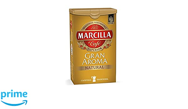 Amazon.com : Marcilla - Gran Aroma Natural - gemahlener Kaffee - 250 gr : Grocery & Gourmet Food