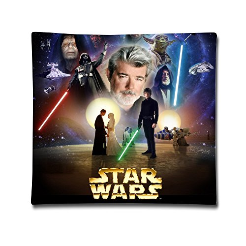 Star Wars Cotton Sateen Pillow Case Cushion Cover (18