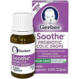 Gerber Good Start Infant Formula Soothe Colic Drops, 0.34 Fluid Ounce