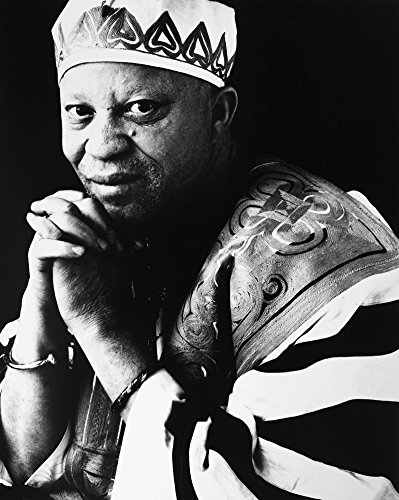 Posterazzi Poster Print Collection Salif Keita (1949-)./Nmalian Singer and Songwriter. Photograph C1995, (18 x 24), Multicolored (Best Of Salif Keita)