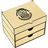 Azeeda 'Two Turtle Doves' Vanity Case / Makeup Box (VC00005634)