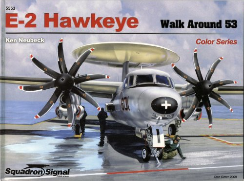 E-2 Hawkeye - Walk Around Color Series No. 53 (5553 Series)