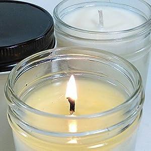 Happy candle gift, Namaste candle, Namastay Happy, Black Rasberry vanilla scented, Maximum fragrance load