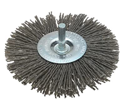 Dico 541-772-4 Nyalox Wheel Brush 4-Inch Grey 80 Grit