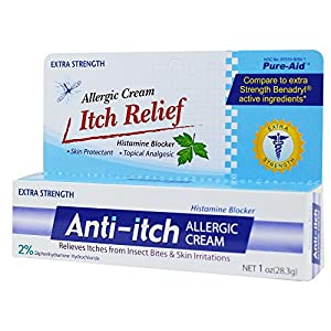 Pure-Aid Anti-itch Allergic Ointment - 1oz (2 pack)