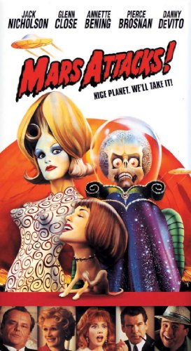 Mars Attacks 11 x 17 Movie Poster - Style ()
