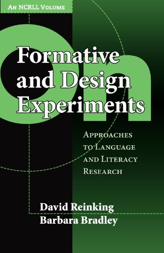On Formative and Design Experiments (NCRLL Collection)