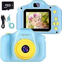 Fotocamera per Bambini Videocamera Digitale per Bambini Giocattolo per Bambini Videocamera Giocattolo Schermo HD da 2...