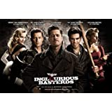 Inglourious Basterds Quentin Tarantino Brad Pitt Movie Poster 24 x 36 inches