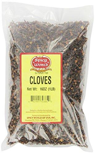 Spicy World Cloves, Whole, 1 Pound