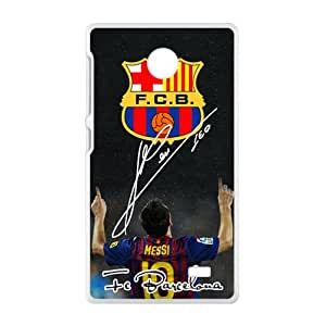 QQQO FCB Fashion Comstom Plastic case cover For Nokia Lumia X