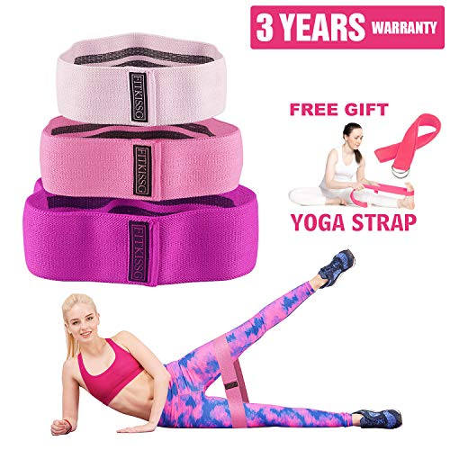 Hip Resistance Bands For Legs And Butt Hip Band Resistance Circle Fabric Workout Exercise Booty Bands Heavy Fitness Glute Activation For Women Thrust Band Thick Wide Cloth Hip Up Loops No Slip