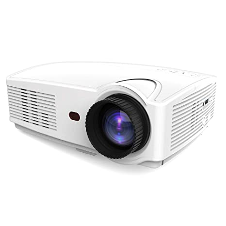 Linbing123 Mini proyector WiFi, proyector de Video, Full HD ...