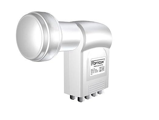 189 opinioni per Opticum LOP-04H Octo-Switch LNB (0,1dB) per ricevitori satellitari Full HD, 3D