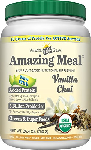 Amazing Grass Vanilla servings Ounces