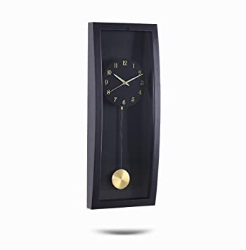 SZ Relojes de péndulo de precisión, Reloj de Pared Mudo, Reloj de Pared Estilo