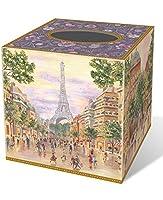 Punch Studio Paris Promenade Tissue Box Cover