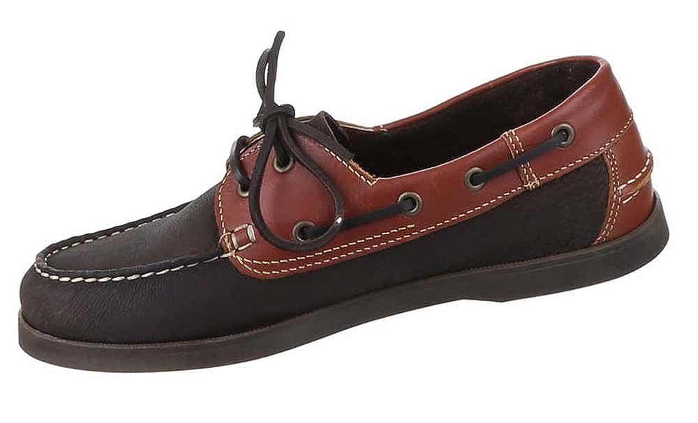 Schuhcity24 Herren-Schuhe Schnürschuhe Halbschuhe   Moderne Halbschuhe Schnürschuhe mit Schnürung in Braun und in Größe 42 Stiefeletten Stiefelchuhe in Lederoptik   360 Grad Schnürung ad2b1f