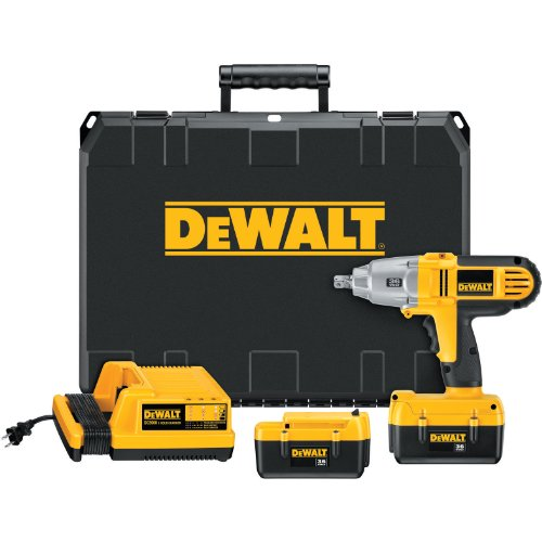DEWALT DC800KL 36-Volt 1/2-inch Lithium Ion Cordless Impact Wrench Kit with NANO Technology -