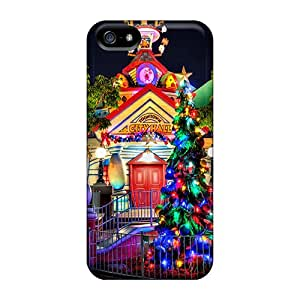 New Diy Design Disney Toontown For Iphone 5/5s Cases Comfortable For Lovers And Friends For Christmas Gifts