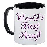 Best CafePress Neice Shirts - CafePress - World's Best Aunt! - Purple Mug Review