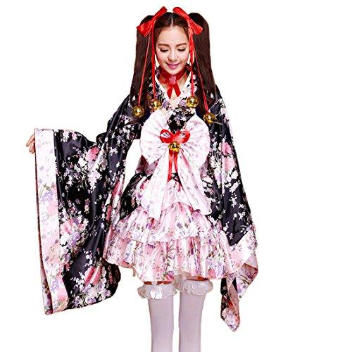 513e0c6ff0d21 Amazon.com  Ainiel Women s Japan Anime Cosplay Kimono Costume  Clothing