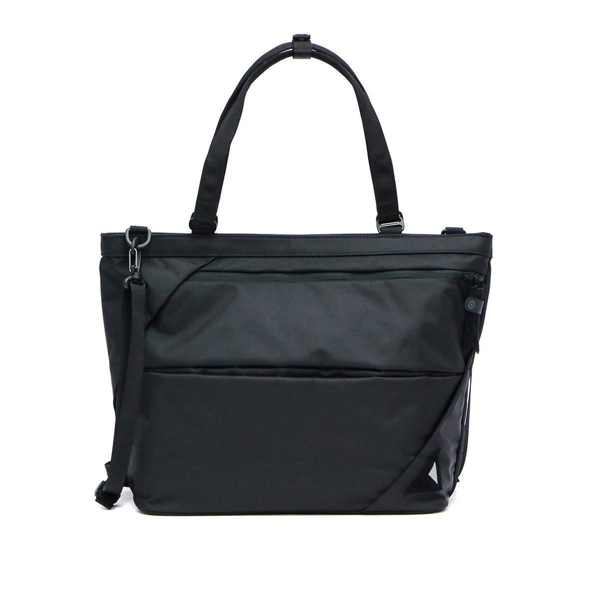 [ヌンク]nunc ユースフルトートバッグ Useful Tote Bag 2WAY トートバッグ NN012010 ブラック B07H4HRSQS