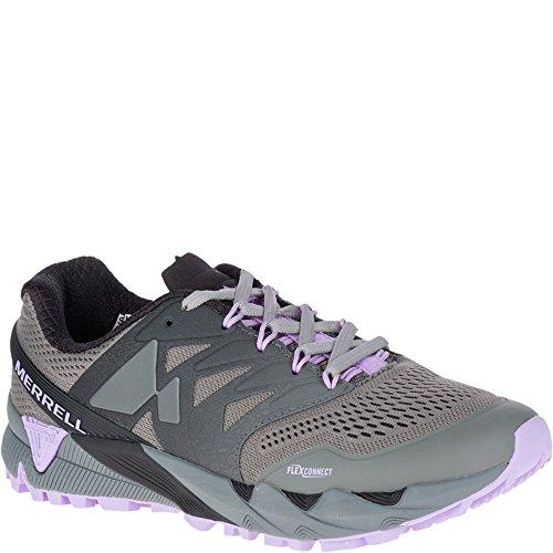 Merrell Women's Agility Peak Flex 2 E-MESH Sneaker, Charcoal, 9.5 M US