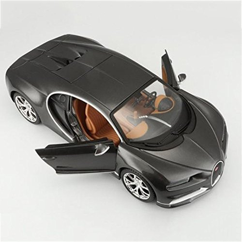 Black Car Model Bugatti Chiron Special Edition Maisto1:24 Play Toys For Kids Vehicle Collectible Models Off Road Gift