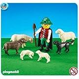 PLAYMOBIL 6204 - Pastor con Ovejas y Perro