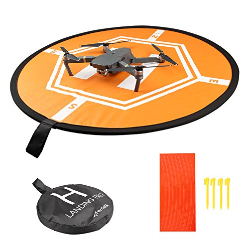 Huhuhero-Drone-Landing-Pad-for-RC-Drones-Helicopter-DJI-Mavic-Pro-and-RC-Phantom-2344-Pro-32-80cm-DJI-Mavic-Pro-Not-Included