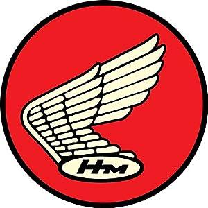 Honda HM Racing Wings Classic Vintage Retro Vinyl Decal Sticker 4x4