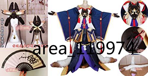 陰陽師 玉藻前(たまものまえ) 天狐能舞 スキン コスプレ衣装