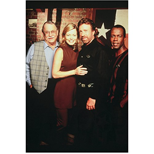 Walker, Texas Ranger Fling with Chuck Norris Clarence Gilyard Jr. Sheree J. Wilson and Noble Willingham 8 x 10 Photo