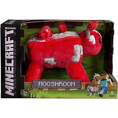 "JINX Minecraft 9"" Mooshroom Plush Stuffed Toy (with Display Box)"