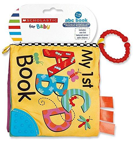 Scholastic Plush Toy ABC Book