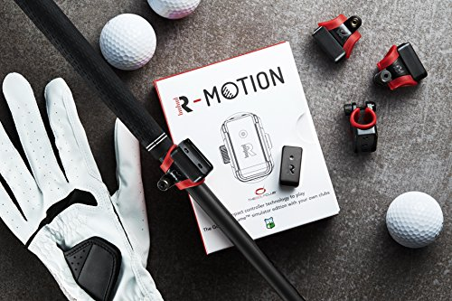 Rapsodo R-Motion and The Golf Club Simulator and Swing Analyzer - Combo package including R-Motion + 14 Club Attachments by Rapsodo (Image #4)