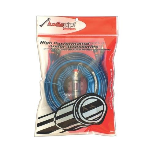 Price comparison product image nippon Audiopipe Bms1500x 8 Gauge Car Audio Amplifier Amp Wiring Kit Bms-1500x
