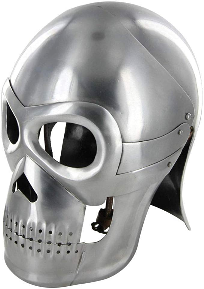 Amazon.com: Casco Skull Medieval Armor Replica Armour ...