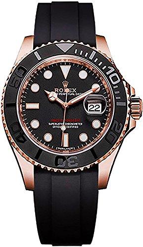 Men's Rolex Yacht-Master 40 Solid 18k Rose Gold Watch (Reference: 116655) (18k Watch Wrist Rolex)