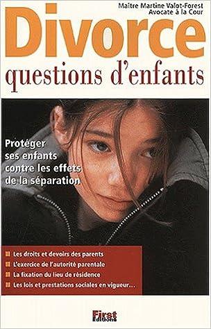 Lire Divorce : questions d'enfants pdf