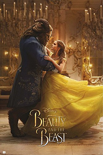 Beast Movie Poster - Beauty And The Beast - Movie Poster / Print (Belle & The Beast - Dancing) (Size: 24
