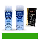 2011 Chevrolet Camaro Synergy Green Metallic WA708S/GHS Touch Up Paint Spray Can Kit by PaintScratch - Original Factory OEM Automotive Paint - Color Match Guaranteed
