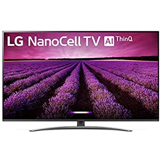 "LG 65SM8100AUA Alexa Built-in Nano 8 Series 65"" 4K Ultra HD Smart LED NanoCell TV (2019)"