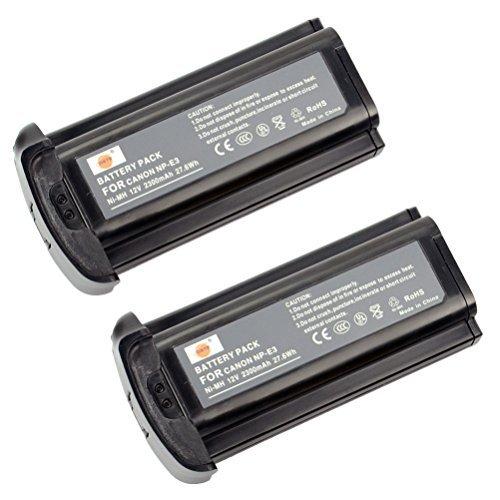 Canon Np E3 Nimh Battery - DSTE® 2x NP-E3 Replacement Ni-MH Battery for Canon EOS 1D EOS 1D MarkII EOS 1D MarkII N EOS 1DS EOS 1DS MarkII Camera