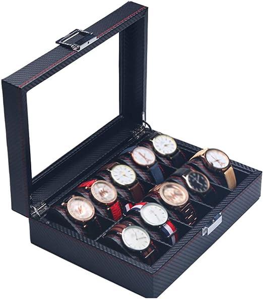 Caja de Almacenamiento de 10 Relojes - Caja Europea de Acabado de ...