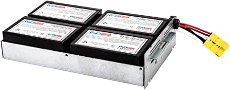 APC Smart-UPS 1500 Rack Mount Compatible Replacement Battery Pack by UPSBatteryCenter SUA1500RM2U