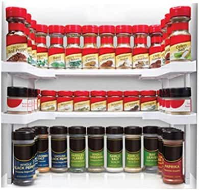 Alfrendant Spicy Shelf Spice Rack and Stackable Organizer, set of 1