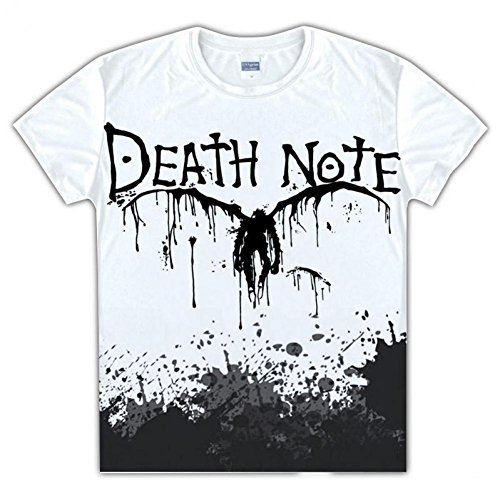 [DEATH NOTE Lawliet Yagami Light costume T-shirt] (L Costume Death Note)