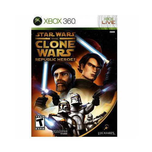 New Lucasarts Star Wars The Clone Wars: Republic Heroes Action/Adventure Game Xbox 360